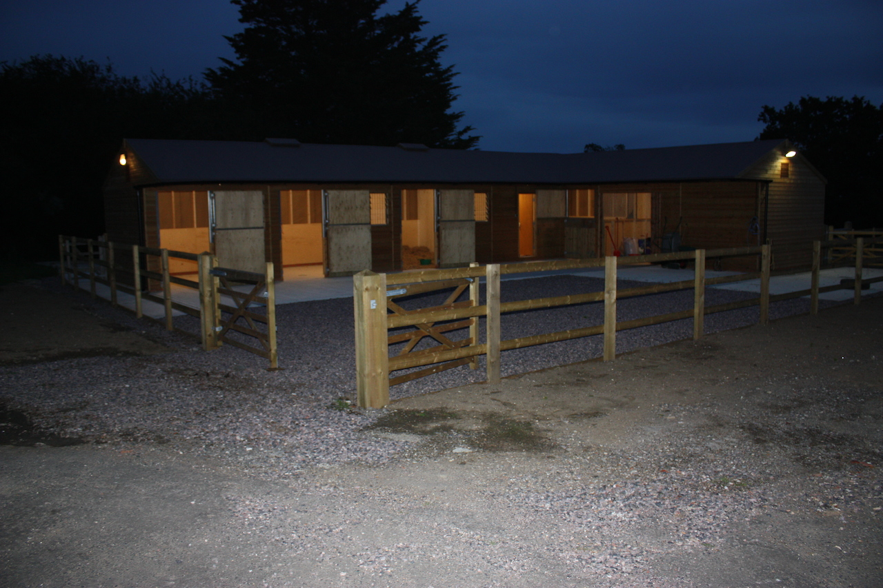 Stables And Base Works Miller Equestrian Services